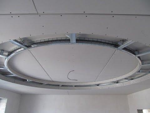Как собрать потолок из гипсокартона в 3 уровня Подробное руководство Лайфхаки от мастера