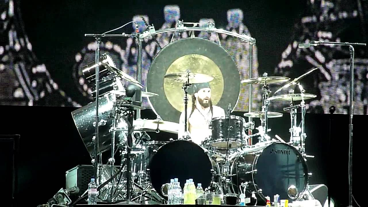 Tommy Clufetos Sick Drum Solo Lollapalooza Black