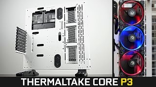 Thermaltake Core P3 Open Case + Riig 12 RGB Fans - Review