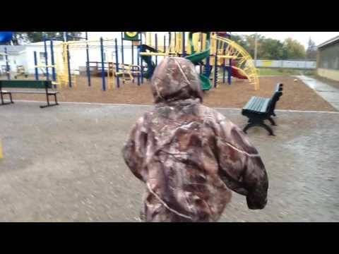 Rosebud Elementary School - 5th Grade Trailer the playground