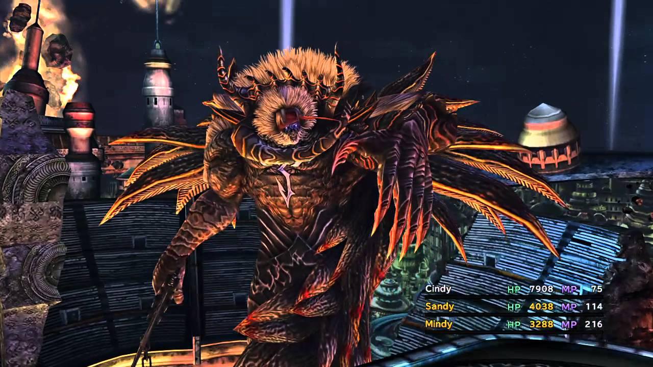 FINAL FANTASY X HD Braska's Final Aeon boss fight (True ...