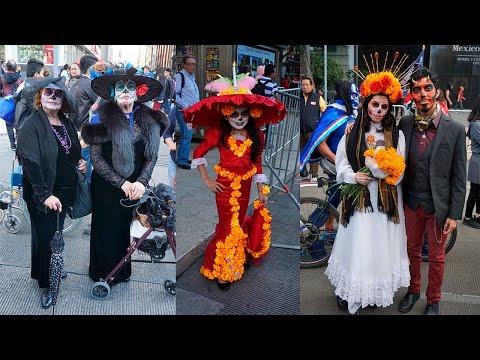 Desfile de Día de Muertos Catrinas y Catrines CDMX