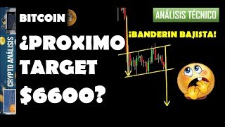Bitcoin ¿PROXIMO TARGET $6600?   Btc/Criptomonedas TRADING ANÁLISIS/NOTICIAS