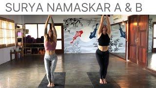 Surya Namaskar A & B with Sarah