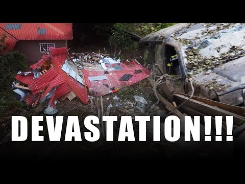 DEVASTATION In Panama! - Hurricane Eta Destroys Parts of Central America