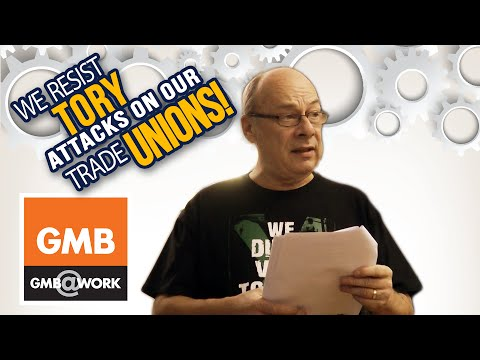 Resist Tory attack on our Trade Unions - 6. Billy McEwen GMB Convenor