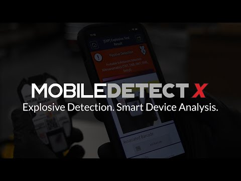 DetectaChem Adds Smartphone Explosive Detection to MobileDetect...