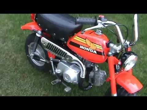"""1978 Honda Z50 Minitrail """"Monkeybike"""""""