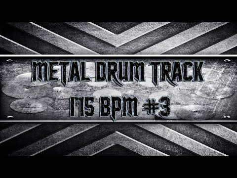 Scandinavian Power Metal Drum Track 175 BPM (HQ,HD)
