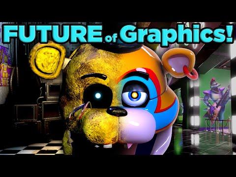 What FNAF's New Look Means For The Future of Gaming| The SCIENCE of... Ray Tracing