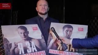 Максим Воронов сделал выбор между Павловичем и Гелегаевым