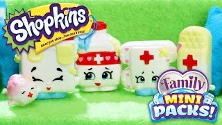 SHOPKINS Family Mini Packs S11 | Billy Bandage has a broken heart… With The Bumps | Webisode