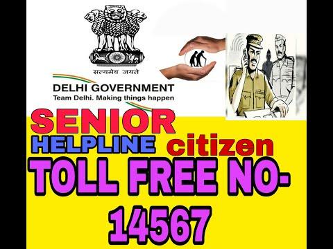 SENIOR  CITIZEN  HELP LINE NUMBER NEL DELHI 2021  || facts life tech ||