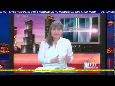 programa periodistas domingo 13/03/2016 via solar tv cusco
