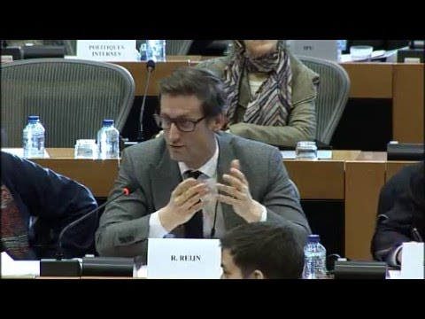 Justice and Peace Netherlands speaks at the European Parliament 16 Feb 2016