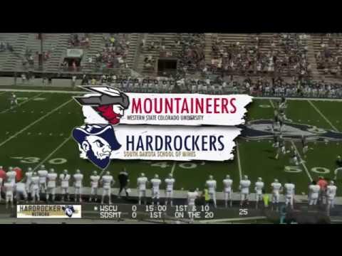 Hardrocker Football Highlights Vs. Western State 9-8-18