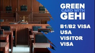 B1/B2 US visa | USA Visitor Visa (B2 Visa) | Applying for a Business (B-1) Visa