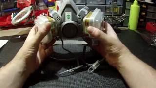 Респиратор 3M 6200  с фильтрами #3m #respirator #3m6200