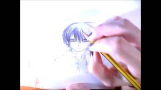 Dibujando a Kuran Kaname // Vampire Knight //