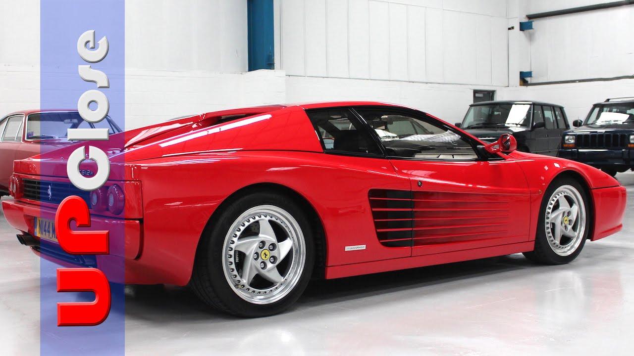 Up Close: Ferrari F512M - YouTube
