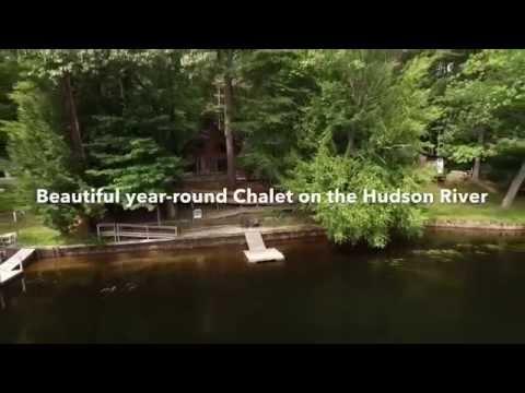 Hudson Riverfront Chalet for Sale