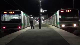 常磐線成田線直通 JR東日本E231系新木駅発着集