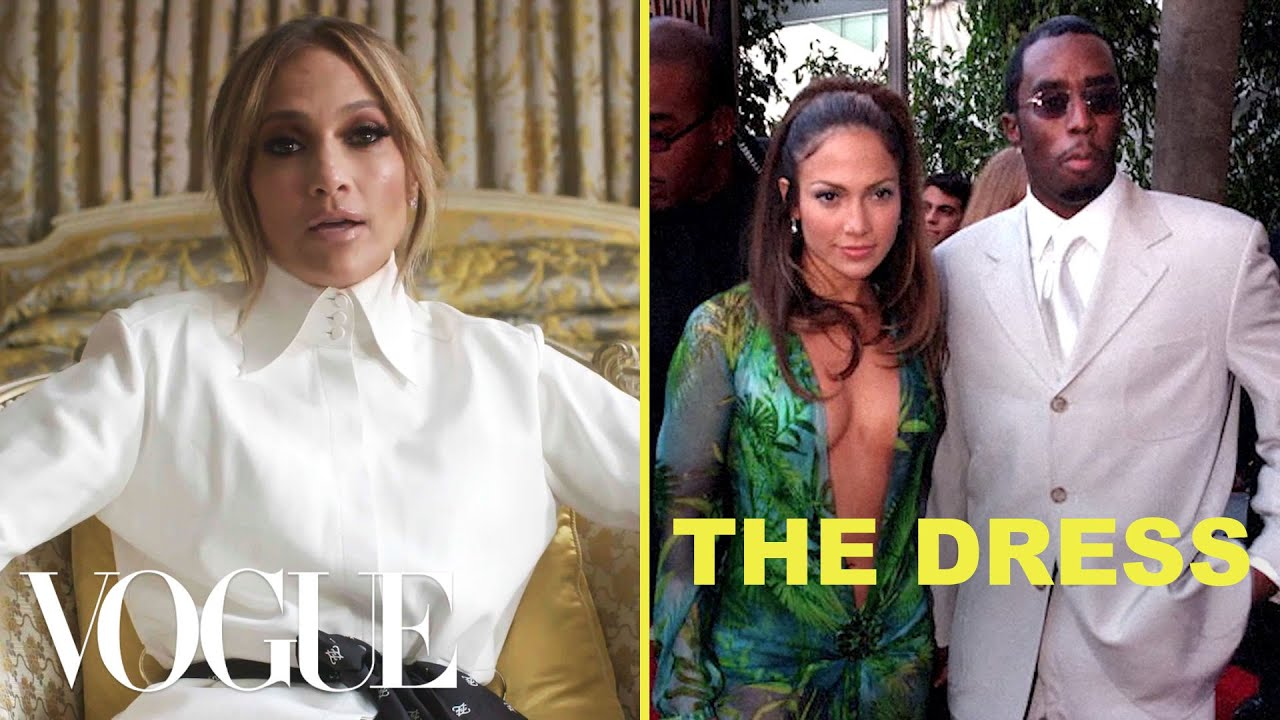 Jennifer Lopez Tells the Story of the Green Versace Dress | Vogue