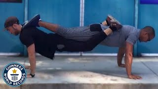Do you dare to try these push-up world records? - Guinness World Records