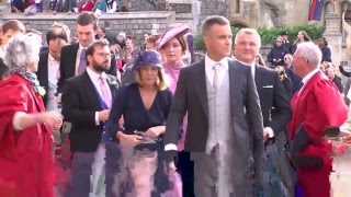 Celebs and royals arrive at Princess Eugenie and Jack's wedding