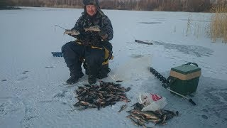 видео Зимняя рыбалка на щуку на блесну