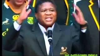 Bokke - Fikile Mbalula send off - springbok song - mabokoboko - muur hulle song