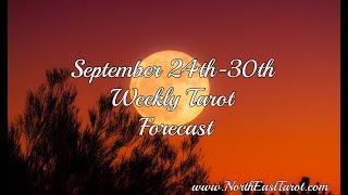Libra Weekly Tarot Forecast September 24th-30th