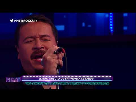 With or without you live By lemon Chile tribute FOX SPORTS CHILE NET