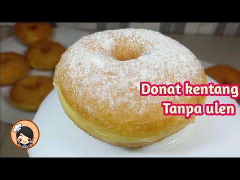 Resep Donat Kentang Tanpa Ulen Super Lembut Dan Montok Youtube