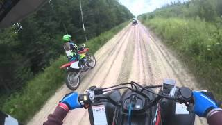 ATV/Dirt bike Trail Riding Part 1