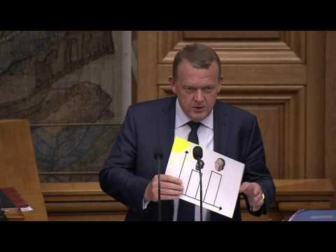 Løkke: Flere solskinstimer under mig end under Anker Jørgensen - Afslutningsdebatten i Folketinget