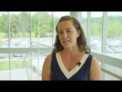 Elisa Chessari '02, vice president of operations, Westchester Medical Center, Talks about Scranton