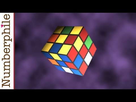 Superflip And Rubik's Cube - Numberphile