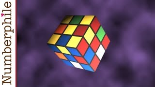 Repeat youtube video Superflip and Rubik's Cube - Numberphile