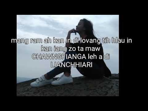 Haze Dec Fanai - Thinlunga Inzawm(Lyrics)