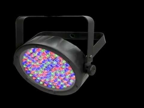 chauvet slimpar 56 led wash light demo youtube. Black Bedroom Furniture Sets. Home Design Ideas