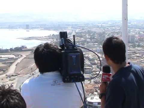 Alerta de tsunami en arica