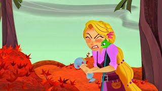 Клеопа заставила всех нервничать Рапунцель История продолжается Канал Disney