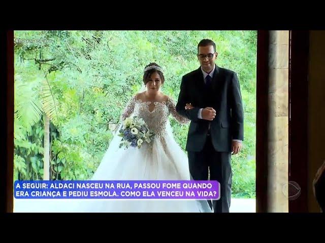 Jéssica vence desafio e ganha festão de casamento