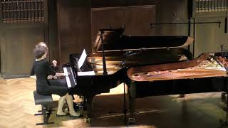 Ravel. Daphnis et Chloé. 2e suite (4 hands version)