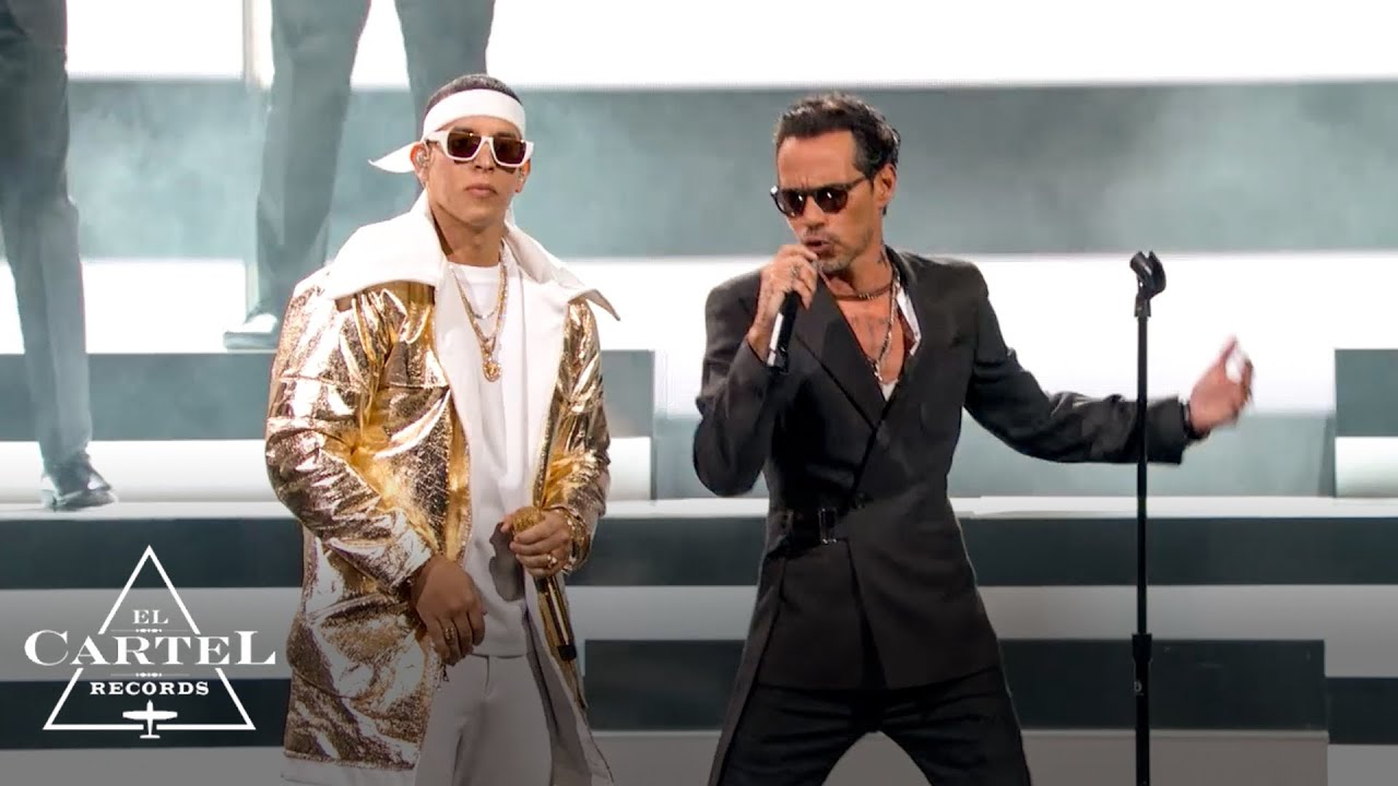 Download Daddy Yankee y Marc Anthony (Premio Lo Nuestro 2021 ) - En Vivo