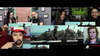 Pirates of the Caribbean 5 Dead Men Tell No Tales Ext  Superbowl  teaser trailer 2 reaction mashup