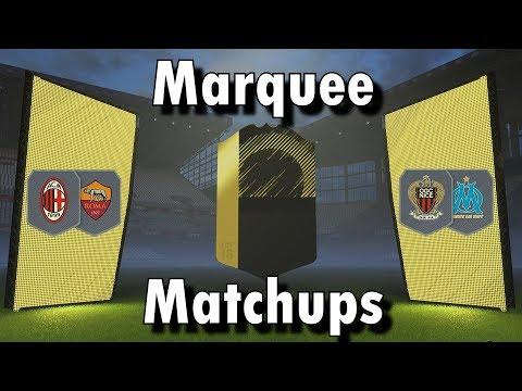 FIFA 18 / Marquee Matchups SBC / Milan v Roma + OGC Nice v OM