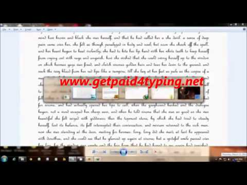 Online Typing Jobs In America Earn $1 per page