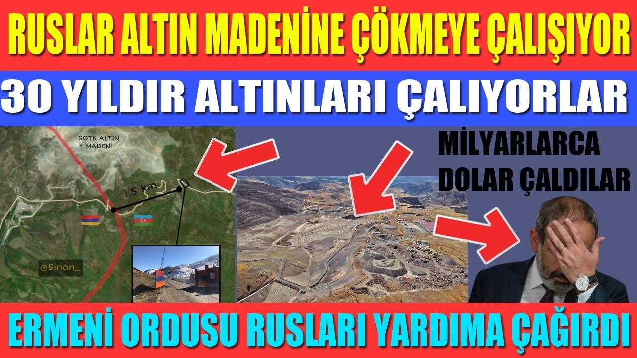 RUSLAR ALTIN MADENİNE ÇÖKMEYE ÇALIŞIYOR / 30 YILDIR ALTINLARI ÇALIYORLAR / MİLYARLARCA DOLAR GİTTİ